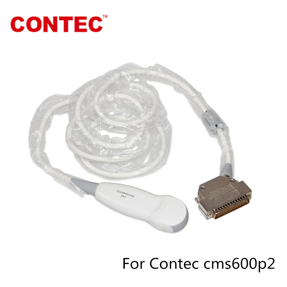 Micro-Convex Cardiac Probe For CMS600P2/ VET Portable Ultrasound Scanner Machine - CONTEC
