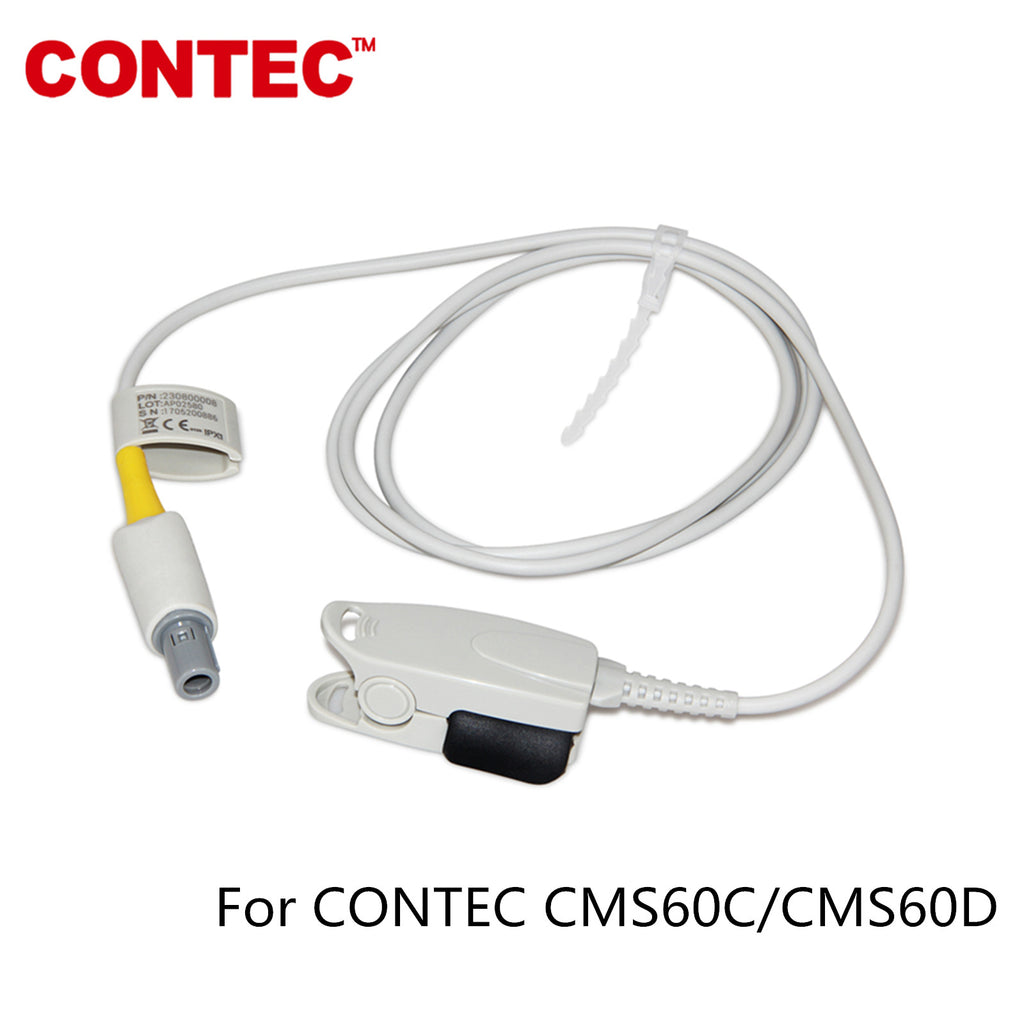 CONTEC Adult SpO2 Probe Reusable Sensor For CMS60C/CMS60D Oximeter - CONTEC
