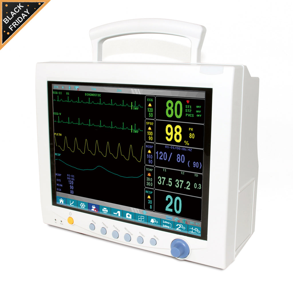 Shipping from China  CMS7000 Plus Vital Signs ICU CCU Patient Monitor 6-Parameter,Touch Screen
