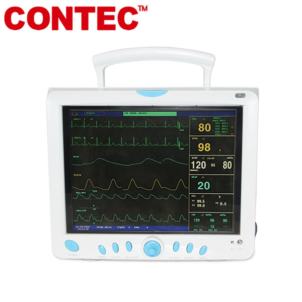 CONTEC CMS9000 Vital Signs ICU/CCU Patient Monitor 6 Parameters ,12.1'' TFT color LCD