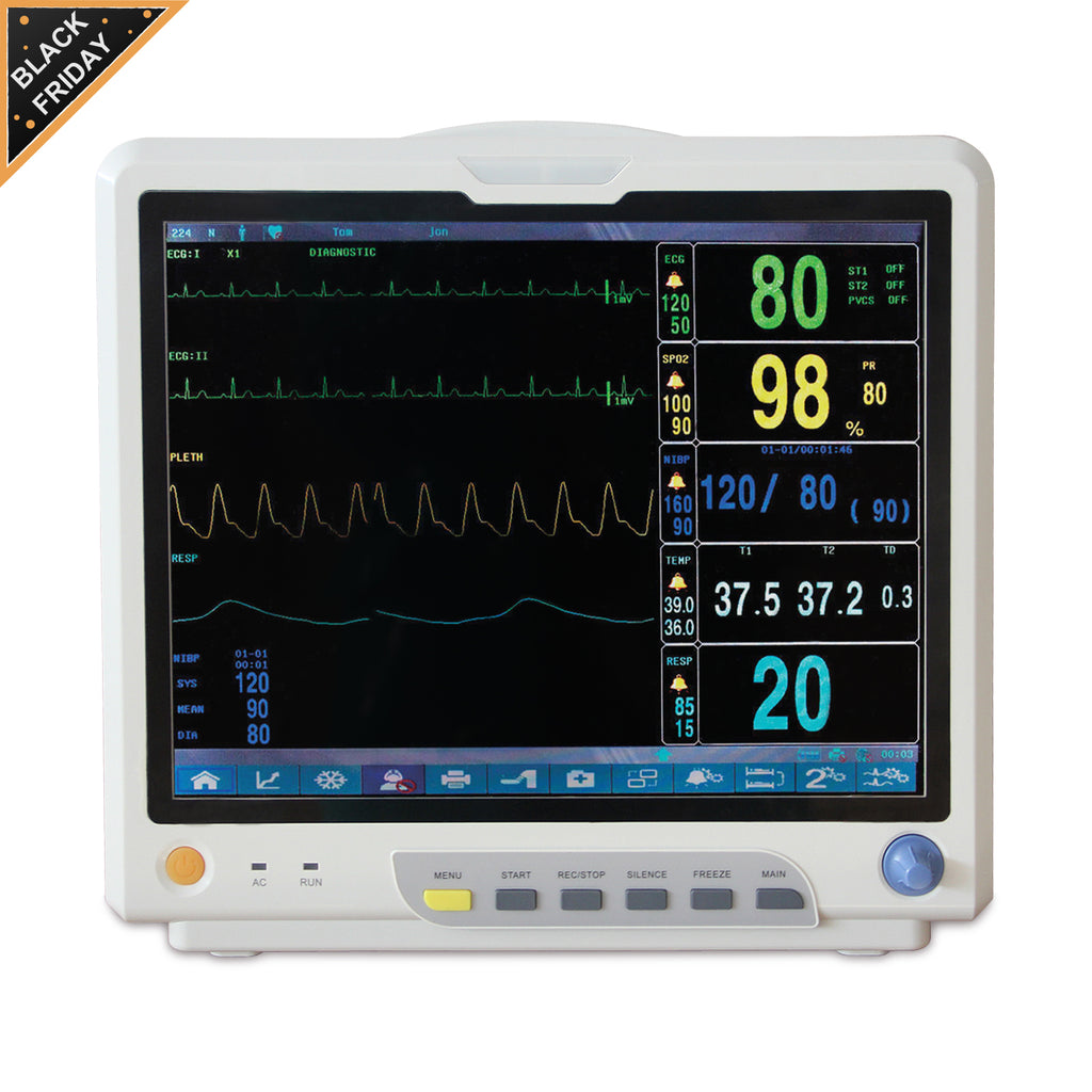 "Ship from China 15"" CONTEC CMS9200  Multi-Parameter ICU CCU Patient Monitor"