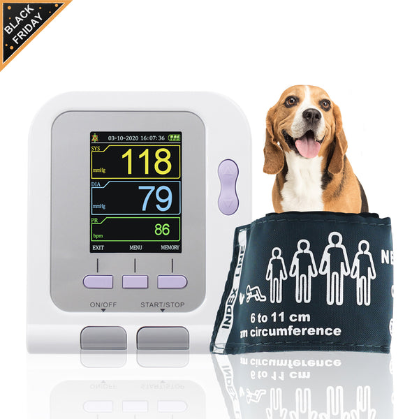 CONTEC08A VET Digital Veterinary Blood Pressure Monitor NIBP PC Software, Dog/Cat
