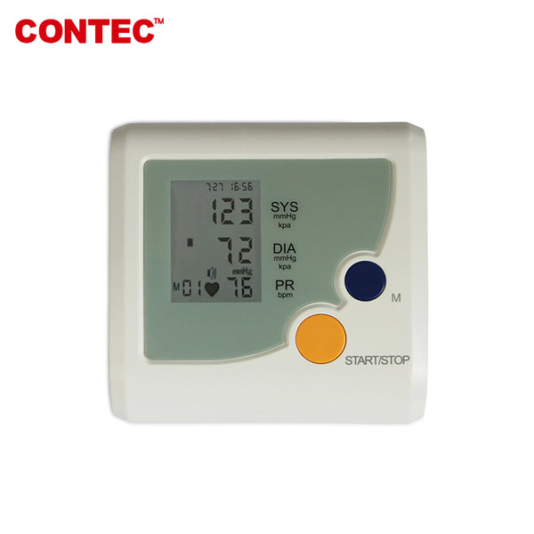 CONTEC08D Digital Blood Pressure Monitor Upper Arm Adult BP Cuff NIBP CONTEC - CONTEC
