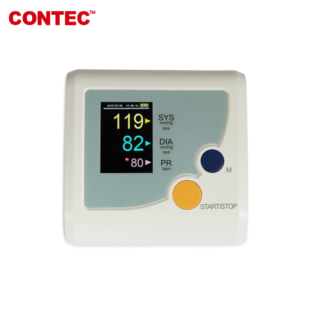 CONTEC08E Digital Upper Arm Blood Pressure Monitor Adult BP Cuff Automatical CONTEC - contechealth