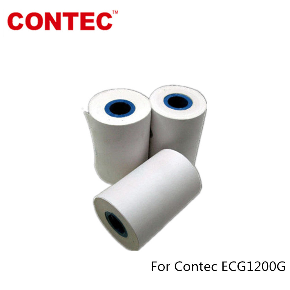 Recording Printer paper For CONTEC ECG1200G ECG Machine EKG Electrocardiograph - contechealth