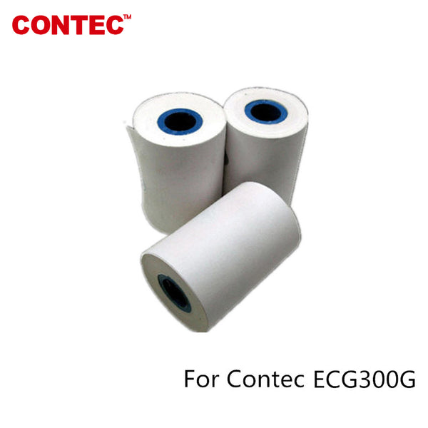 1 roll Print Paper For CONTEC ECG 300G ECG machine Electrocardiograph 80mm*20m - CONTEC