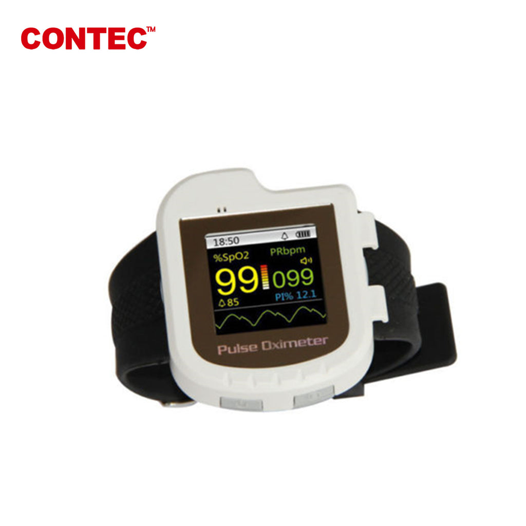 OLED CMS50I Pulse Oximeter spo2 Pulse rate PI oxygen adult spo2 probe+software - CONTEC