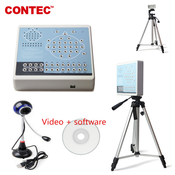 With Video KT88-3200 Digital 32  Channel EEG  Machine&Mapping System,2 tripods,Brain electric CONTEC - CONTEC