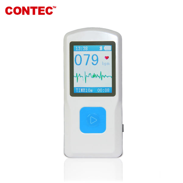 Cloud Bluetooth Handheld ECG/EKG PM10 Heart/Cardiac Monitor - contechealth