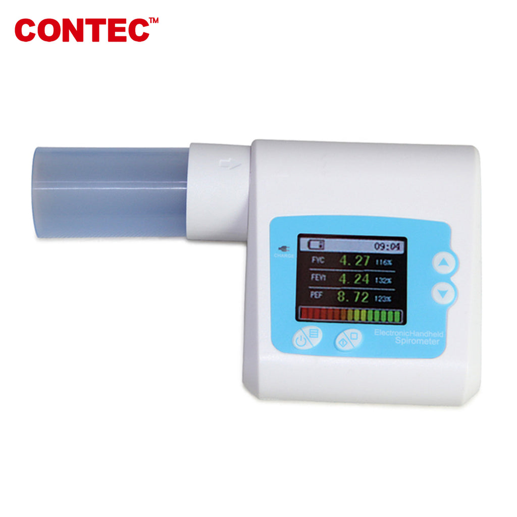 SP10W Digital Lung Volume device Spirometer Pulmonary Function, Bluetooth - CONTEC