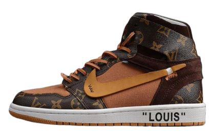 Louis Vuitton OFF–WHITE x Nike Air Jordan 1s - The Hype Hotel