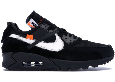 "Off-White x Nike Air Max 90 ""All Black"" - The Hype Hotel"