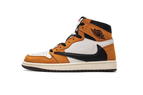 Custom Travis Scott Cactus Jack Jordan 1's (Orange) - The Hype Hotel