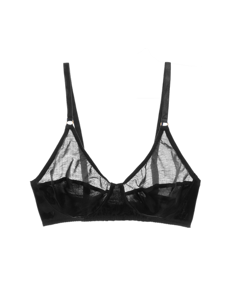 Willow Bralette Black