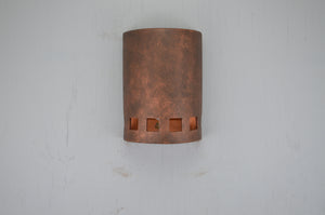 10'' Low Profile Squares-Antique Copper-open top