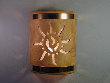 Southwest ceramic lighting fixtures - wall sconces