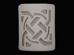 Open Top-Celtic Circle Design-White color-Indoor/Outdoor