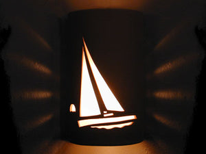 Open Top-Sailboat Design-Tan color-Indoor/Outdoor