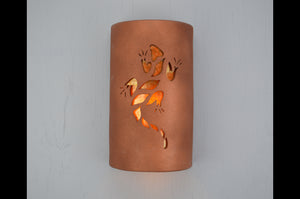 14'' Lizard-Amber Mica-Rusted Copper-indoor-outdoor-117 252 669 90