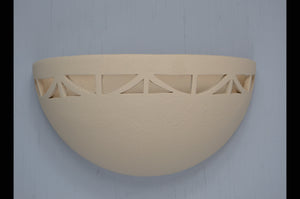 Small Bowl-Art Deco border-Antique White-indoor-120 743 404 91-2