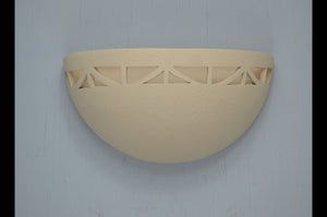 Small Bowl-Art Deco border-Antique White-indoor-120 743 404 91