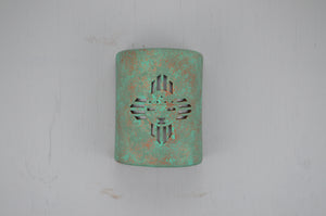 9'' Closed Top (Dark Sky)-Kachina-Raw Turquoise-Indoor-Outdoor-114 692 90 copy
