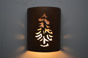 9'' Closed Top-Pine-Antique Copper-Indoor-Outdoor