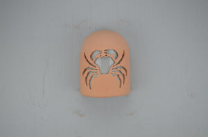9'' Hood-Crab design-Apricot-Dark Sky-115 358 416 90