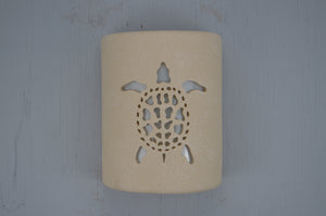 9'' Open Top-Sea Turtle-Tan Tone-Indoor-Outdoor
