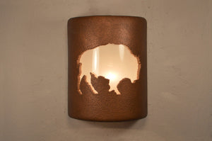 lodge-buffalo-antique copper-indoor-outdoor