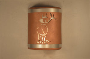 elk-stainless steel-antique copper-indoor-outdoor