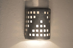 modern-architectural-grid-industrial silver-indoor-outdoor wall sconce