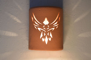 Phoenix-Terracotta-dark sky-southwest-indoor-outdoor-lit
