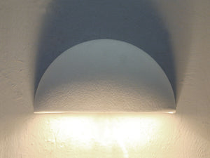 Architectural-Small Bowl Lighting Fixture-Indoor/Outdoor Down Light Wall Sconce