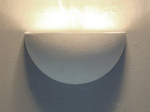 Architectural-Small Bowl Lighting Fixture-Indoor Up Light Wall Sconce
