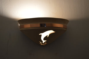 Half Bell-Dolphin-Tan-copper band-uplight-indoor night-118 218 408 775 91