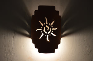 Stairstep Handcut-Ancient Sun-Rusted Steel-Indoor-Outdoor