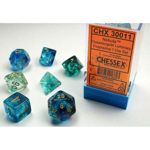 Chessex Nebula Oceanic/Gold