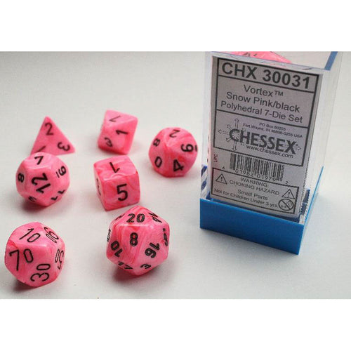 Chessex Vortex Snow Pink/Black