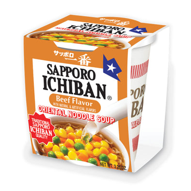 Sapporo Ichiban Beef Cup