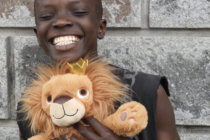 Meet Rafiki Lion! The lion who will fund a school!