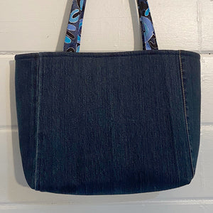 Original Handmade Quilted Australiana Handbag - Waterhole