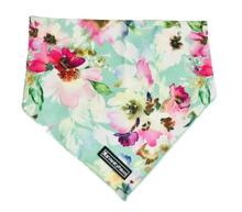 Load image into Gallery viewer, Floral Dog cat bandana