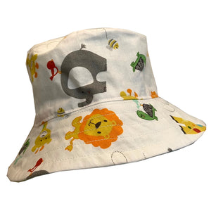 Boys Handmade Baby & Toddler Hat - African Animals
