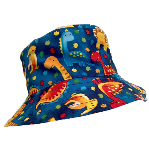 Boys Handmade Baby & Toddler Hat - Dinosaur Dark