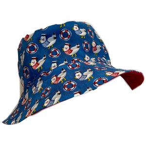 Boys Handmade Baby & Toddler Hat - Sailor Seagull