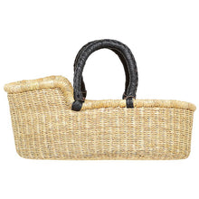 Load image into Gallery viewer, Dolls Bed Basket - Black Handles
