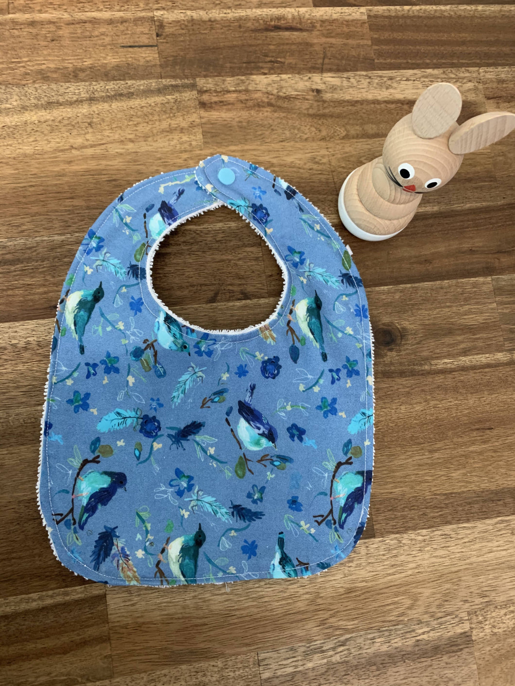 Baby Bib - Blue Bird