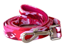 Load image into Gallery viewer, Pink Military - Dog Collar, Walking Lead,