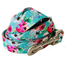Load image into Gallery viewer, Minty Bouquet - Dog Collar, Walking Lead